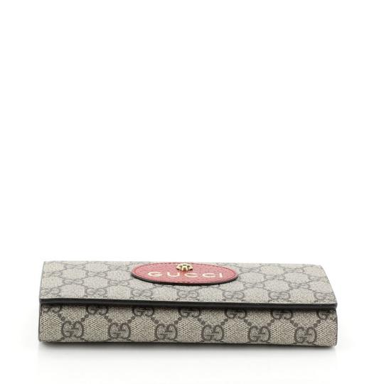 Gucci Neo Vintage Continental Wallet brown Clutch Image 4