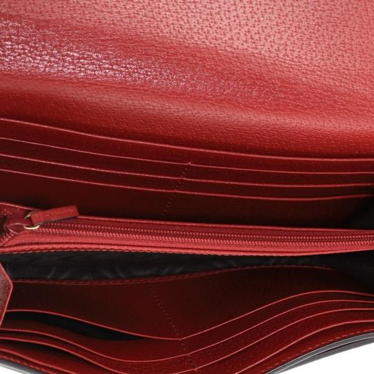 Gucci Neo Vintage Continental Wallet brown Clutch Image 5