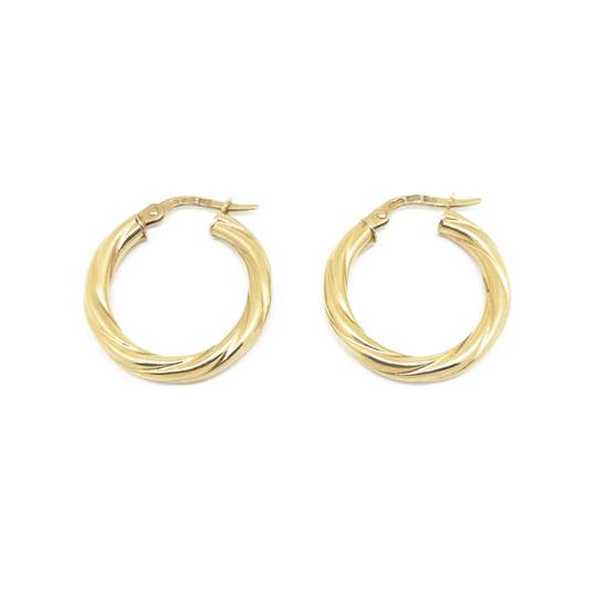 Preload https://img-static.tradesy.com/item/25977283/gold-14k-hoop-twist-rope-earrings-0-2-540-540.jpg
