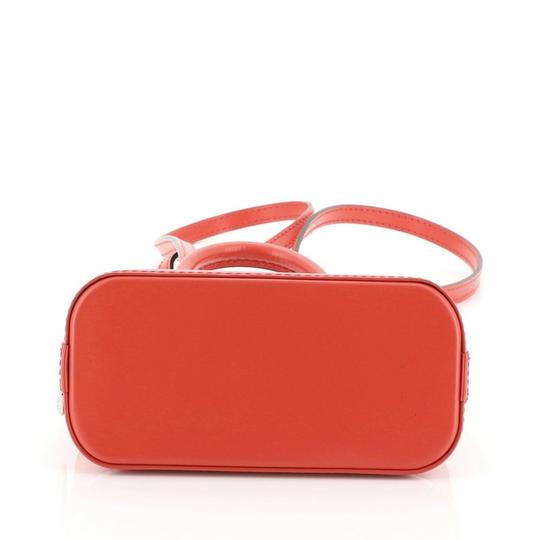 Louis Vuitton Alma Epi Leather Satchel in red Image 5