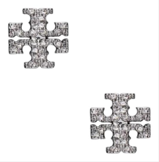 Preload https://item5.tradesy.com/images/tory-burch-silver-on-card-austrian-crystals-earrings-25977329-0-2.jpg?width=440&height=440