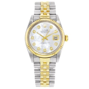 Rolex Datejust 16013 Holes 1984 MOP Men's Watch