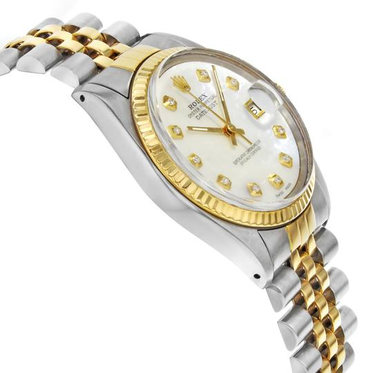 Rolex Datejust 16013 Holes 1984 MOP Men's Watch Image 3