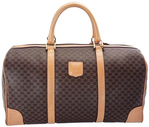 Céline Keepall Duffle Monogram Vintage Brown Travel Bag