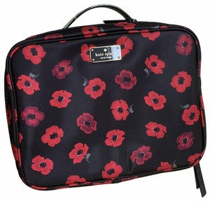 Kate Spade NWT Large Wilson Road Mini Poppy Martie Travel Cosmetic Case WKRU5070
