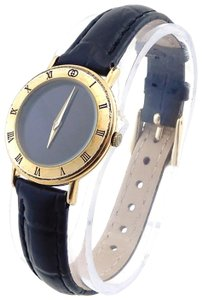Gucci Vintage Gucci 3000L Gold Ladies Leather Band Watch