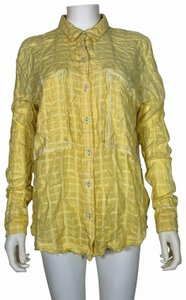 Free People Cotton Top Yellow