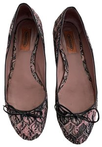 Missoni pink/black/gray Flats
