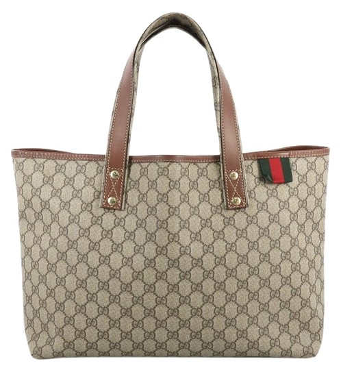 Gucci Canvas Tote in brown Image 0