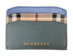 Burberry Izzy Haymarket Soft Grain Card Case