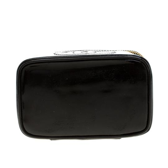 Chanel Patent Leather Black Clutch Image 4