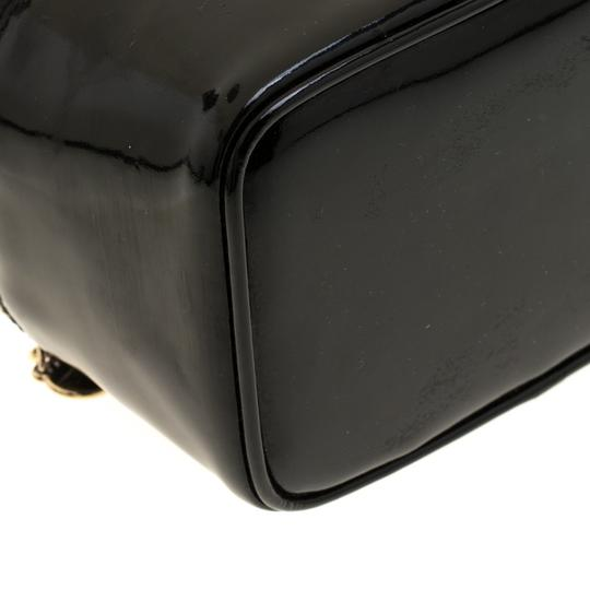 Chanel Patent Leather Black Clutch Image 7