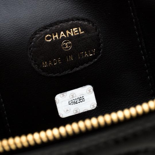 Chanel Patent Leather Black Clutch Image 8