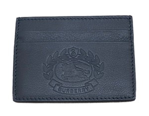 Burberry New Embossed Sandon Crest Card Case