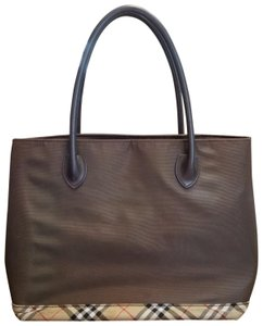 Burberry Blue Label Tote in Brown