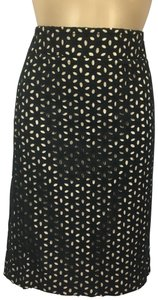Ann Taylor Skirt Black & Nude