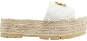 Gucci Princetown Loafer Mule Slide Flat white Sandals