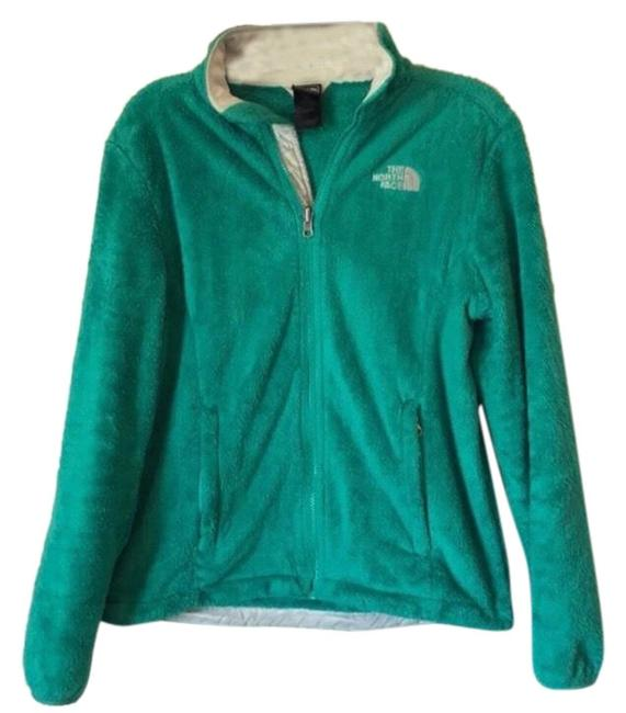 Item - Green Osito Fleece Jacket Coat Size 8 (M)