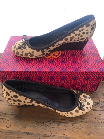 Tory Burch cheetah Wedges Image 1