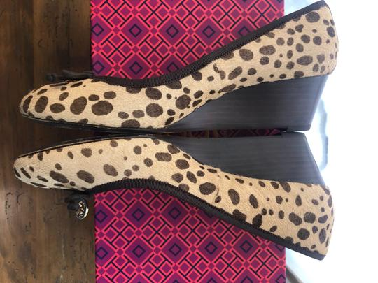 Tory Burch cheetah Wedges Image 2