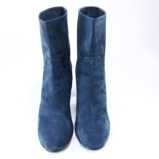 Chanel Teal Fall blue Boots Image 4