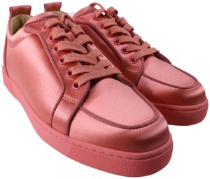 Christian Louboutin Charlotte Coral Coral Sneakers Sneakers orange Athletic
