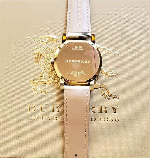 Burberry New Burberry Women's Bu9026 The City Haymarket Check Watch Image 4