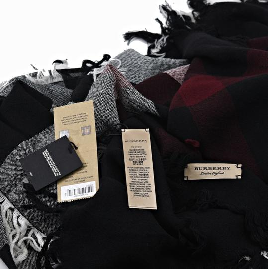 Burberry Burberry Color Check Wool Square Scarf Image 3