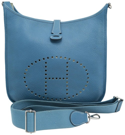 Preload https://img-static.tradesy.com/item/25980320/hermes-evelyne-iii-turquoise-togo-cross-body-bag-0-2-540-540.jpg