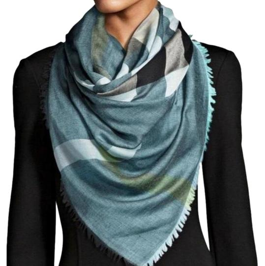 Preload https://img-static.tradesy.com/item/25980357/burberry-blue-relaxed-mega-check-scarfwrap-scarfwrap-0-1-540-540.jpg