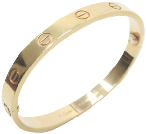 Cartier Cartier Yellow Gold Size 16 Love Bracelet