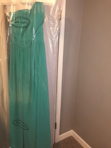 Alfred Angelo Green Formal Bridesmaid/Mob Dress Size 6 (S)
