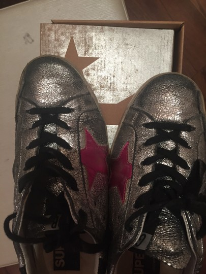Golden Goose Deluxe Brand silver Athletic Image 7