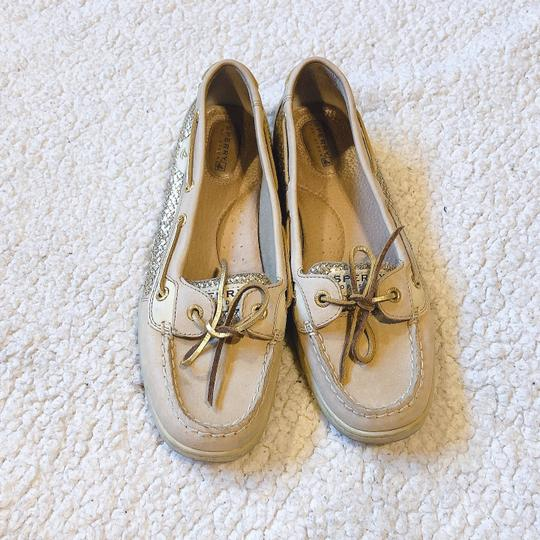 Sperry Gold Flats Image 1