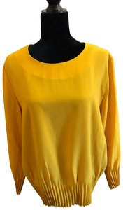 COS Office Sophisticated Stunning Top Yellow