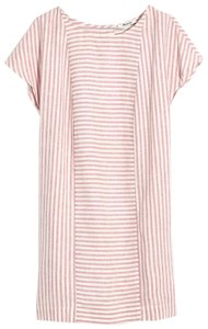 Madewell short dress white/pink on Tradesy