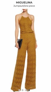 Miguelina yellow jumpsuit