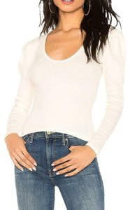 Free People Cotton Top Ivory