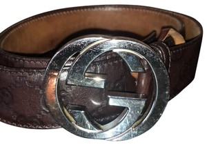 Gucci Gucci Signature Leather Belt