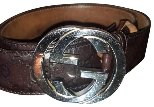 Preload https://img-static.tradesy.com/item/25982162/gucci-brown-signature-leather-belt-0-2-540-540.jpg