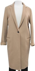 Theory Cashmere Wool Long Trench Coat