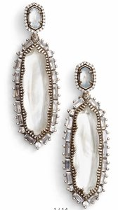 Kendra Scott Ivory Kalina Mother Of Pearl Earrings