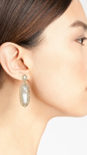 Kendra Scott Ivory Kalina Mother Of Pearl Earrings Image 2
