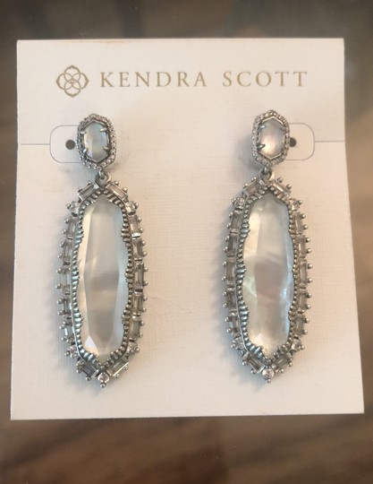 Kendra Scott Ivory Kalina Mother Of Pearl Earrings Image 4