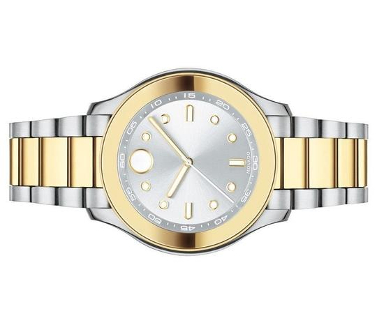 Movado Bold Two Tone Stainless Steel Midsize Womens 3600418 Image 5