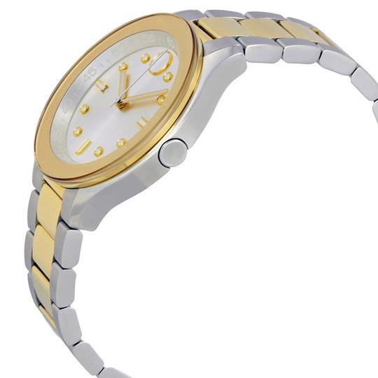 Movado Bold Two Tone Stainless Steel Midsize Womens 3600418 Image 9