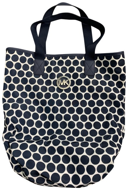 Item - Packable Navy Blue and White Nylon Tote