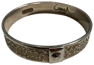 Coach coach silver fashion bangle