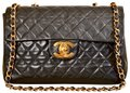 Chanel Jumbo Vintage Single Flap Maxi Shoulder Bag