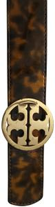 Tory Burch Reversible Gold/Tortoise Shell Belt